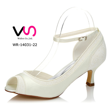 Little Comfortable Heel Wr-14031-22 Wedding Dress Shoes With ...