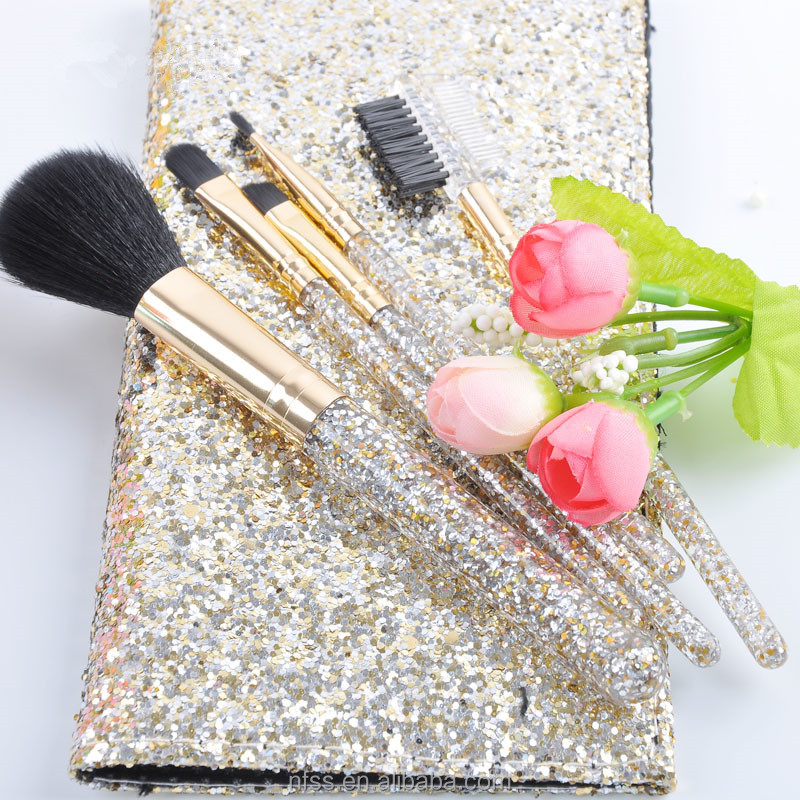 Popular Products Mini Makeup Brush ,Portable Makeup Brush Kit ,Mini Make Up Brush Tool Set