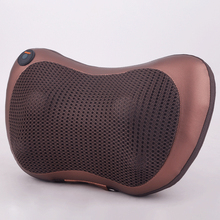 Electric Car Head Shoulder Back Body Neck Kneading Shiatsu Massage pillow with Heatin