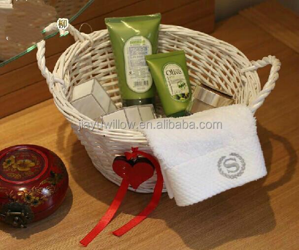 Wholesale Simple Fabric Lined Grey Corner Wicker Storage Basket Wicker  Basket For Home Storage Set 3