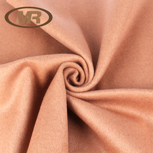 hot sale 50%wool 50%polyester lightweight portable fleece wool fabric for suiting