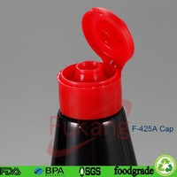 425ml425ml Free sample PET soy sauce plastic bottle/jar with cute lid ,pet plastic bottle