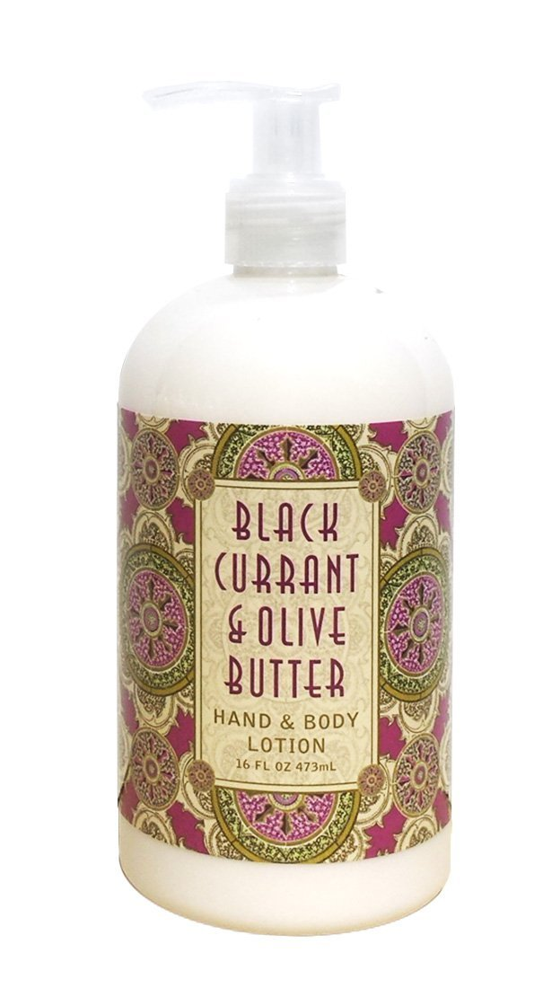 Greenwich Bay Black Currant & Olive Butter Hand & Body Lotion Enriched with Shea Butter 16 oz