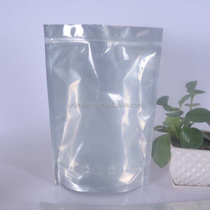 Compost Material Synthetic Lamination Pouch Potato Chips Seal Bags Zip Lock Smell Proof Plastic Bags