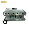 Fashional heavy duty bean to cup automatic coffee machine commercial+1 group head coffee machine