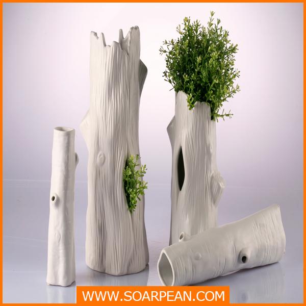 amazing usine fournisseur d coratif en fiber de verre blanc faux arbre tronc d corati tronc. Black Bedroom Furniture Sets. Home Design Ideas