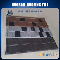 Roof Tile Edging Synthetic European German Italian Spanish,Construction Material Metal Stone Coated Roof Tile