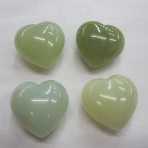 <strong>natural</strong> gemstone New Jade carved puffed heart
