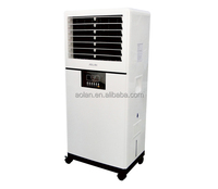 Summer household mini portable air water cooler fan