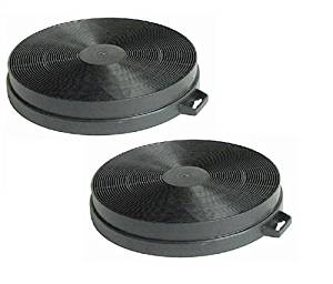 First4Spares Carbon Charcoal Filters For Elica Cooker Hoods Pack of 2