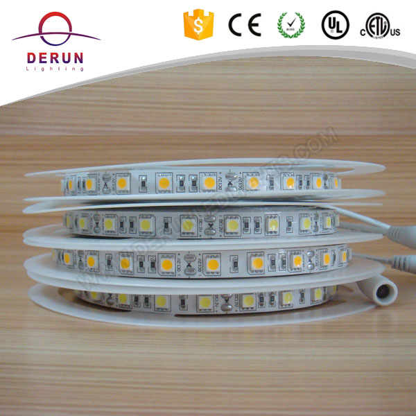 Factory price 5050 nonwaterproof warm white flexible led sticker light