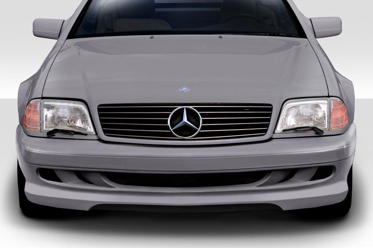Duraflex ED-QVE-141 W-1 Front Bumper - 1 Piece Body Kit - Fits Mercedes SL - Mercedes - 1990 1991 1992 1993 1994 1995 1996 1997 1998 1999 2000 2001 2002 | 90 91 92 93 94 95 96 97 98 99 00 01 02