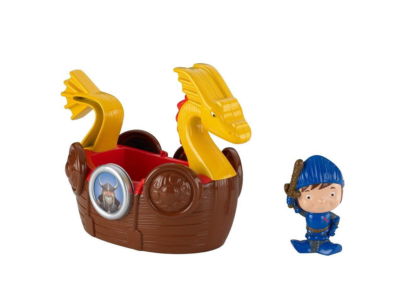 Fisher-Price Mike The Knight: Bath Viking Adventure Ship