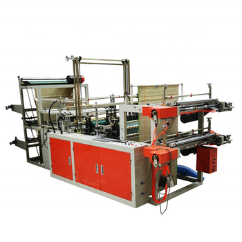 Computer controlled high speed continu rolling vest zak making machine (dual channel)