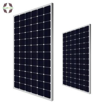 Factory Direct Sales Mono Solar Panel 350w Black Solar