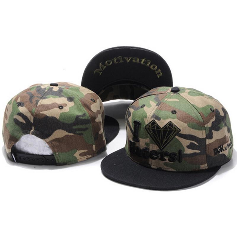 Get Quotations · Cheap DGK Snapback hats for men  women hip hop cap  motivation camo I love haters cd79b2d7b67