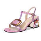 FDM0020 Women Summer Open Toe Backless Sandals on Sale