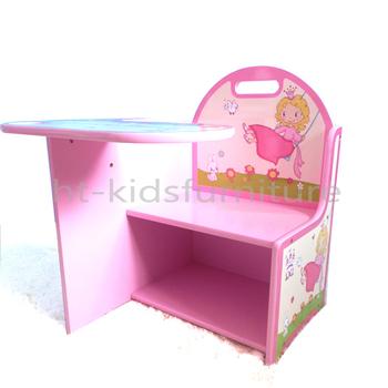 43X45.5X(H)51cm Little Girl Princess Easy Assembly MDF E1 Kids Study
