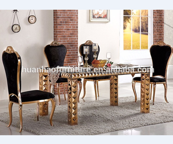 Turkish Dining Room Set Metal Base For Wedding Chairs And Tables