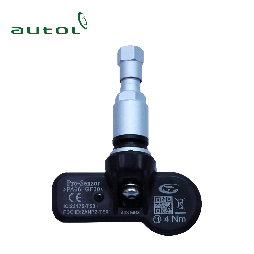 Tire Sensor TPMS 433MHZ/315MHZ Pro-Sensor Replace The Original Directly By Copying the ID