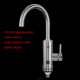Full stainless steel instant water heater faucet/electric Water Tap