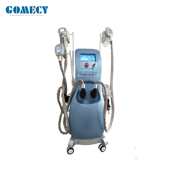 GOMECY CE Approved cool tech  vacuum+cavitation +RF+lipo laser super fast Cool Shape body slimming Fat Freezing Machine