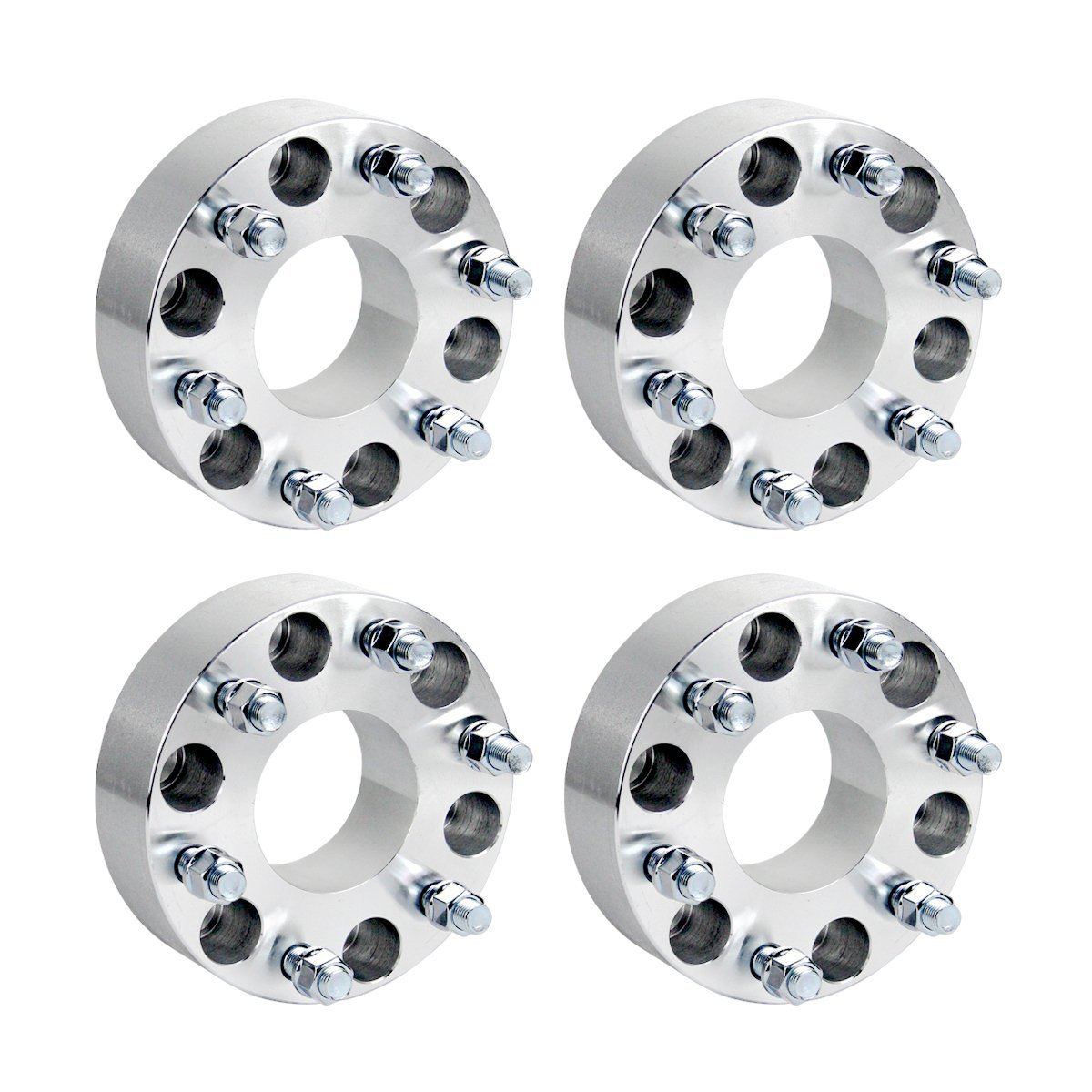 2 X PC HUBCENTRIC WHEEL SPACERS ADAPTER 5x114.3 66.1 CB 9MM A PAIR 5X4.5
