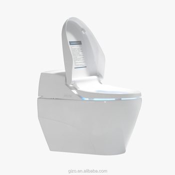 Flip cover automatically intelligence bidet toilet for healthy life