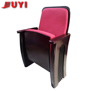 JUYI Upscale Baking finish Wooden Armrest VIP cinema theater chair for sale JY-933