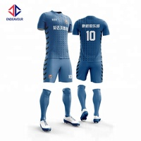 Team football shirt sublimated soccer uniform