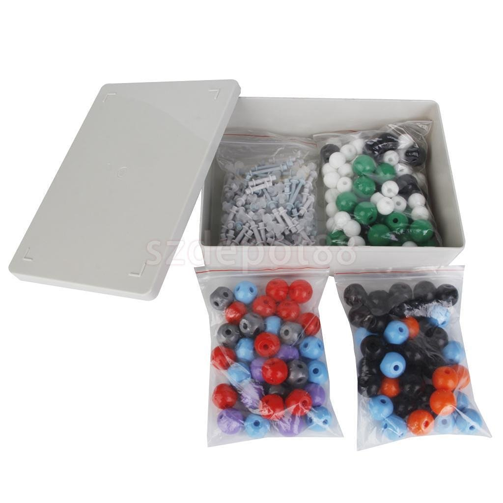 Sangdo 320 pcs Molecular Model Kit Organic & Chemistry Science Atom Molecules Links