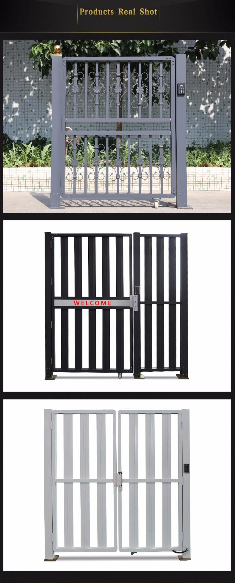 New design modern main aluminum gate designs L1536-in Gates from ...