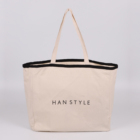 women walker cotton tote bag canvas with zipper