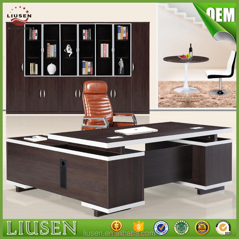 Venta al por mayor precio de escritorios de madera para for Fabrica de escritorios de oficina