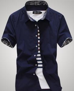 d11050b wen fashion casual Korean style teenager boys shirt