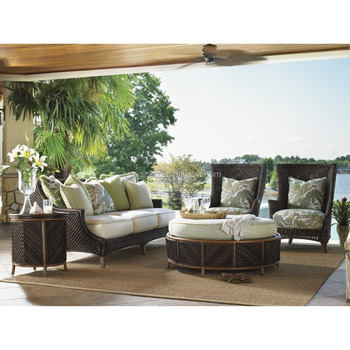 Fine Tropical Island Design Wicker 3 Seat Sofa And Storage Ottoman Sofa Set Rattan Outdoor Patio Furniture Buy Outdoor Patio Furniture Wicker Sofa Wicker Ocoug Best Dining Table And Chair Ideas Images Ocougorg
