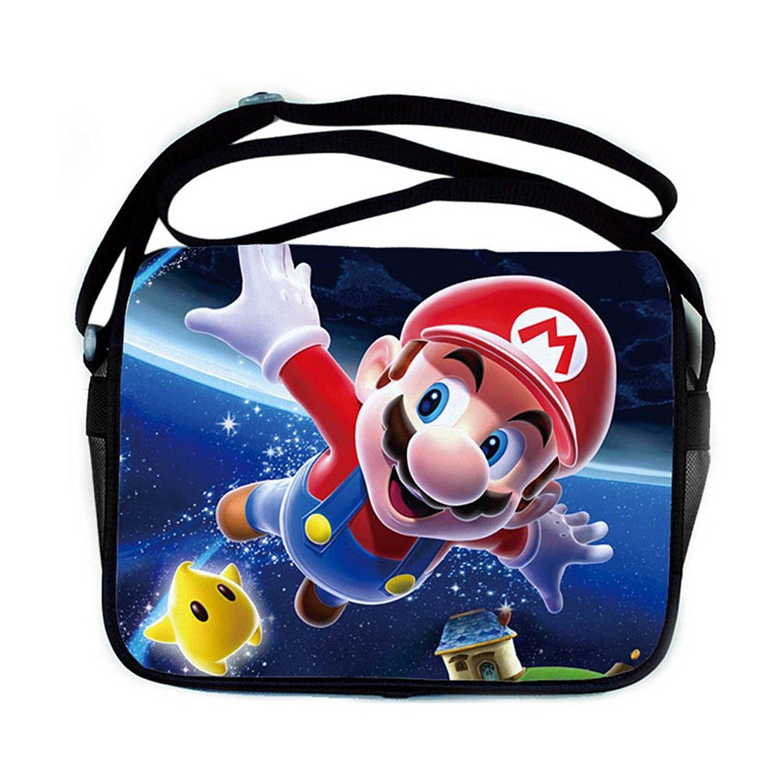 fcdf96aca8ee Get Quotations · Super Mario Anime Shoulder Bag Mary Shoulder Bag Students  Pack Animation School Bag