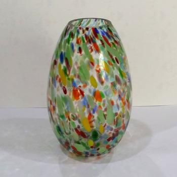 Mexican Blown Glass Vasemulti Colored Mini Glass Vaseconfetti