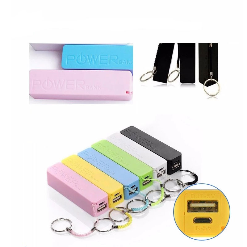 Travelling power bank 2600mah new promotional gift electronics charger