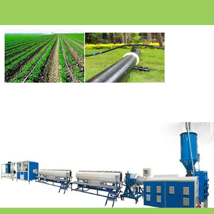 Drip irrigation pipe sj-65/30 extruder 20/50mm plastic hdpe tube single screw making equipment