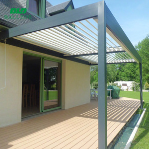 Retractable balcony roof, terrace cover system sun shade awning