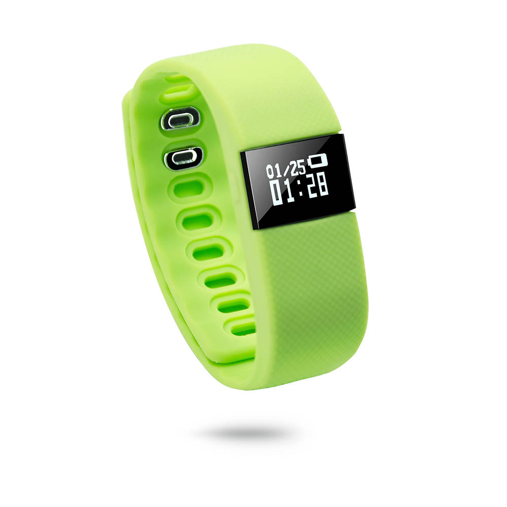 TOP rated in Amazon hot selling cheap factory wholesale price soft best women pedometer smart band with CE and RoHS