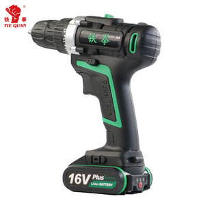 screwdriver electric cordless type 16v impact lithium drill