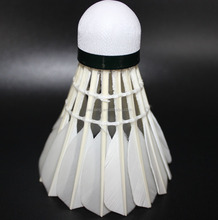 All-Round Goose Feather Badminton Shuttlecock For International Tournament