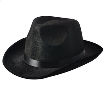 9c066cab81 Black Pinched Fedora Gangster Hat - Buy Fedora Gangster Hat,Black Fedora  Gangster Hat,Felt Gangster Hat Product on Alibaba.com