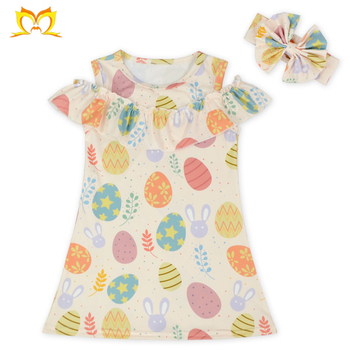 a03635941f Cute Girl Easter Cold Shoulder Dress Child Super Models Pictures Western  Dresses Names Photos