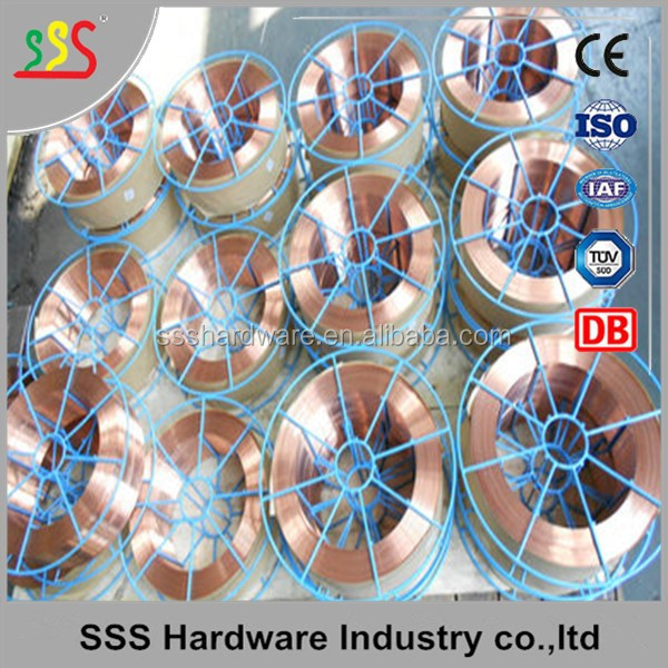 Sale Er70s-6 Co2 Gas Shielded Mig Welding Wire Carbon Manganese ...