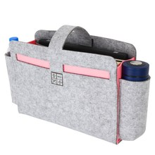Milieuvriendelijke feature vilt nachtkastje caddy accessoires <span class=keywords><strong>bed</strong></span> organizer