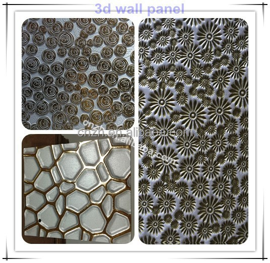 enviornmental textuur 3d decoratieve wandpanelen voor interieur muur decoratie Wallpapers  wand