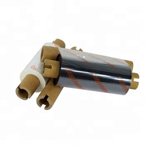 110mm*90m compatible thermal transfer resin ribbon 0.5 inch core for argox printer